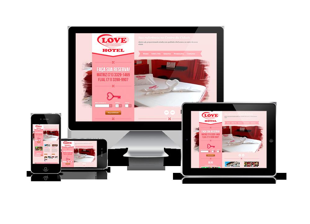 Website Love in bahia