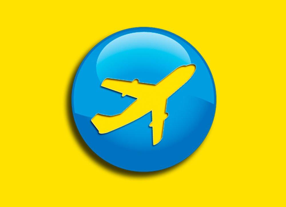 Design Logomarca Aviação Comercial – Livre Pouso