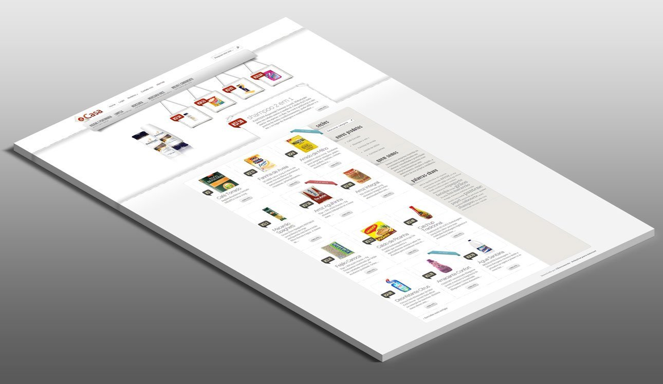 E-Commerce Website E-Casa