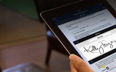 Assinar documento eletronicamente