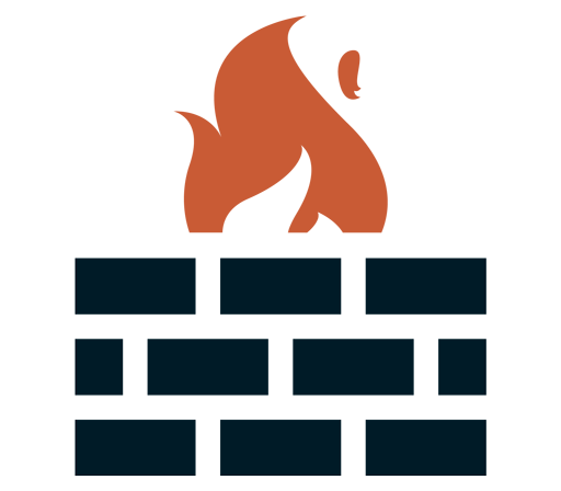 Hospedagem com Firewalls